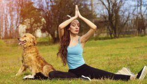 Doga 101 Practica de a face yoga cu câinele tău