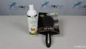 Giveaway: perie de îngrijire andis și șampon de câine fericit ($ 33 + valoare)