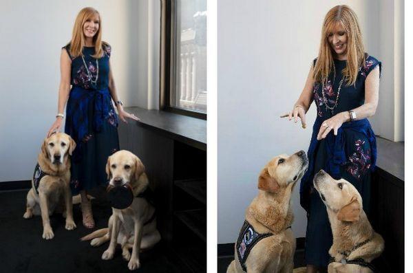 Nicole Miller a creat produse pentru a beneficia de programul Puppies Behind Bars