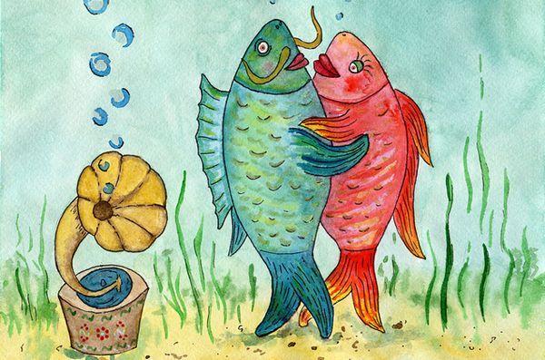 Rămâi acordat pentru talentul acvariului