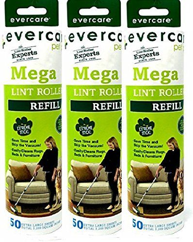 Evercare Pet Mega Roller 50-Layer Refill