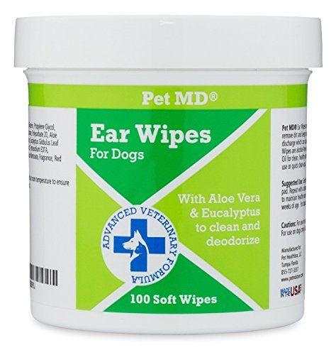 Șervețele de curățare a urechii pentru animale de companie MD MD